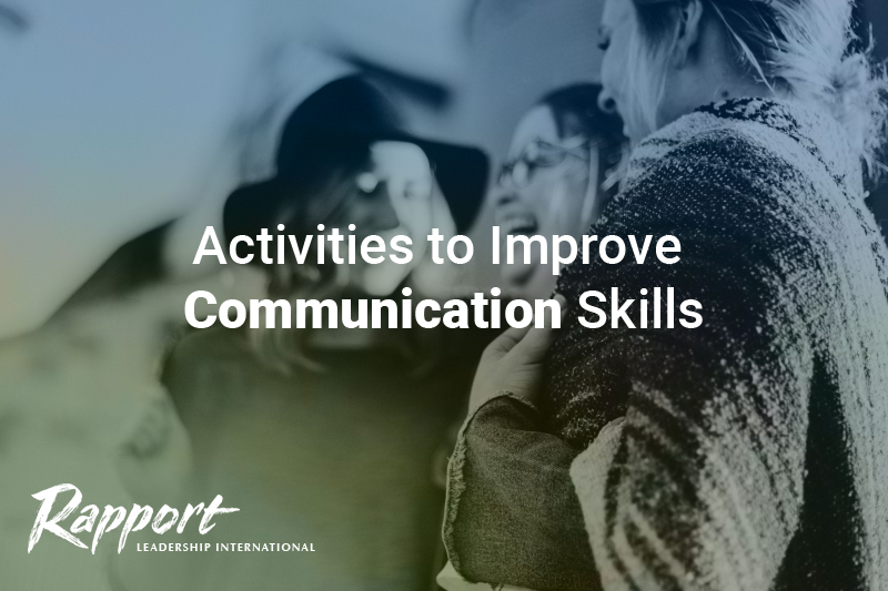 activities to improve communication skills