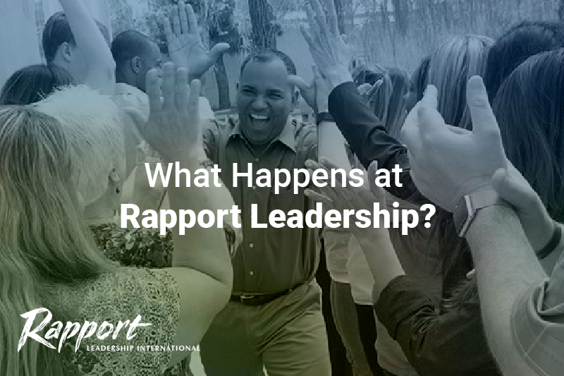 What Happens at Rapport Leadership?